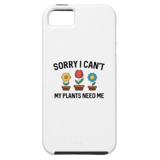 Sorry I Can't iPhone 5 Case