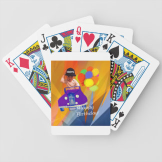 Sorry I forgot your birthday. Bicycle Playing Cards