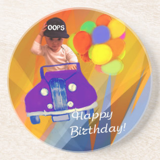 Sorry I forgot your birthday. Drink Coasters