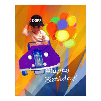 Sorry I forgot your birthday. Letterhead