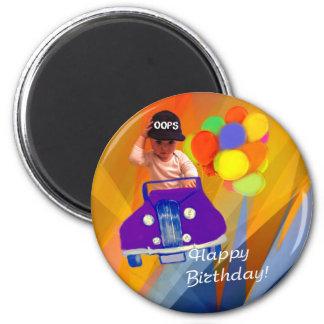 Sorry I forgot your birthday. Magnet