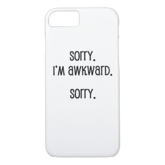 Sorry I'm Awkward iPhone 8/7 Case