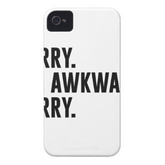 Sorry I'm Awkward Sorry iPhone 4 Case-Mate Case