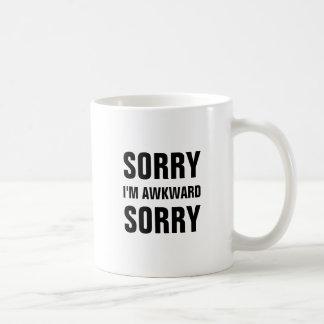 Sorry I'm Awkward Sorry Mug
