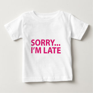 Sorry I'm barks Baby T-Shirt