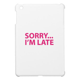 Sorry I'm barks Case For The iPad Mini