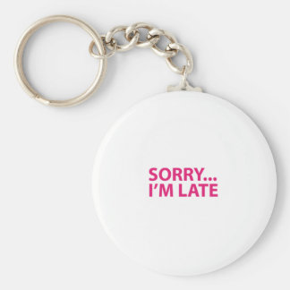 Sorry I'm barks Keychain