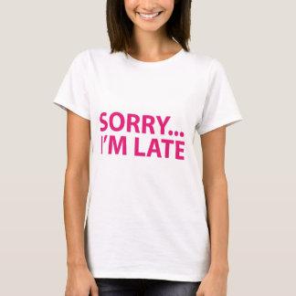 Sorry I'm barks T-Shirt
