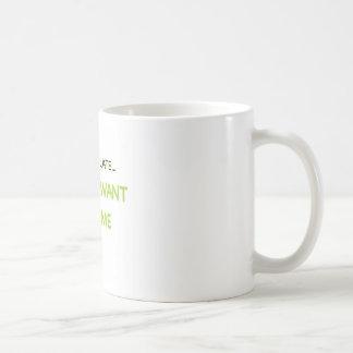 Sorry I'm Late Coffee Mug