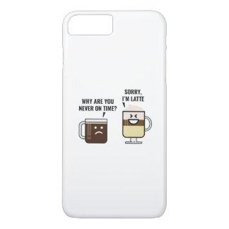 Sorry, I'm Latte iPhone 7 Plus Case