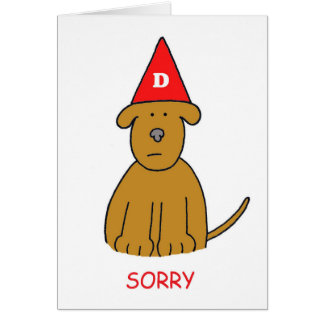 Sorry I've been an idiot, forgive me. Card