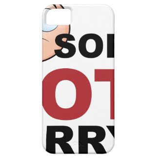 Sorry Not Sorry Cartoon Character iPhone 5 Cases