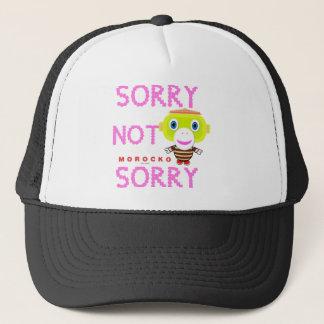 Sorry Not Sorry-Cute Monkey-Morocko Trucker Hat