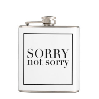 Sorry Not Sorry Flask