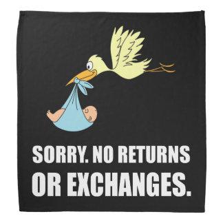 Sorry Returns Exchanges Stork Baby Kerchiefs