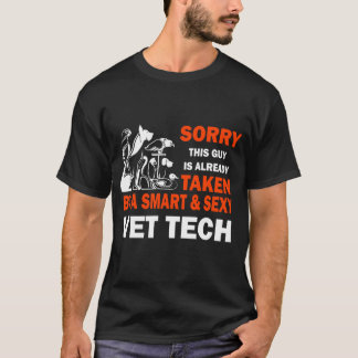 Sorry, this guy is already taken by a vet tech T-Shirt