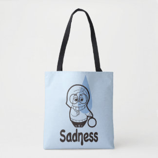 Sort of a Blue Day Tote Bag
