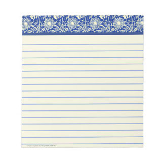 Sorta Blue Calico (Lined) Notepad
