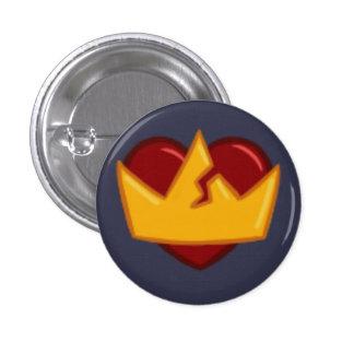 sortaHEART 1 Inch Round Button