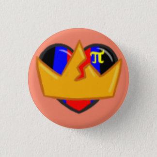 sortaPOLYAMOROUS 1 Inch Round Button