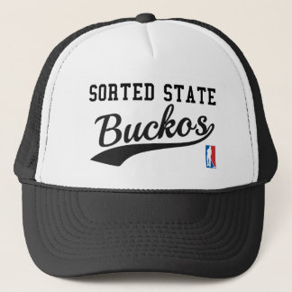 Sorted State Buckos - Jordan Peterson Trucker Hat