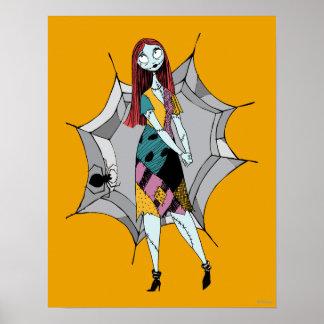 Sortie en toile d'araignée poster