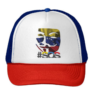 #sos cap to support to Venezuela Venezuela Trucker Hat