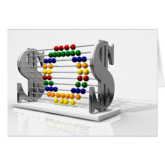 SOS Debt Abacus Card