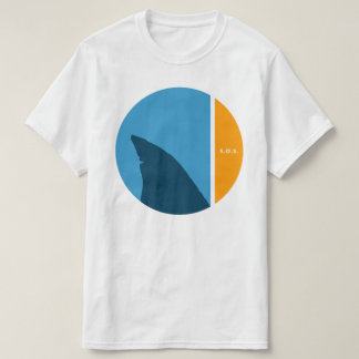 SOS save our seas save our sharks circles T-Shirt
