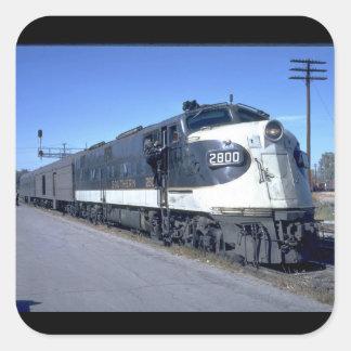 SOU EMD E-6A #2800 with_Trains Square Sticker