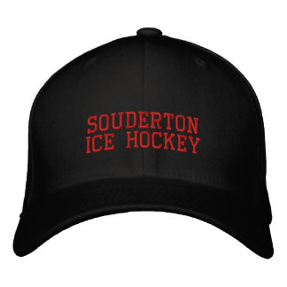 Souderton Ice Hockey Cap - PERSONALIZE IT Embroidered Hat