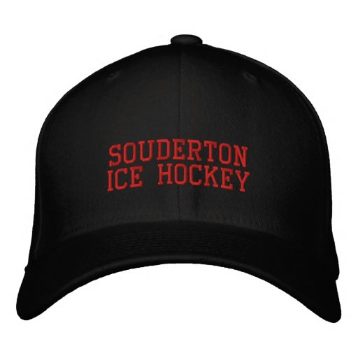 Souderton Ice Hockey Cap - PERSONALIZE IT Baseball Cap