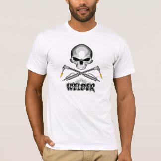 Soudeuse de crâne et torches croisées t-shirt