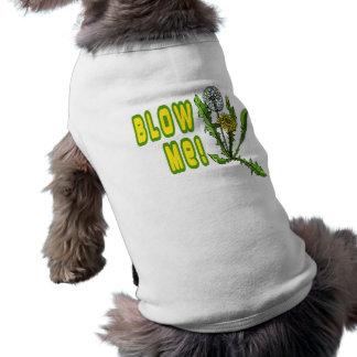 Soufflez-moi pissenlit t-shirts pour animaux domestiques