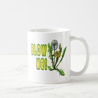 Soufflez-moi pissenlit mugs à café