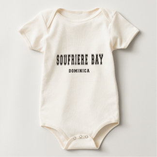 Soufriere Bay Dominica Baby Bodysuit