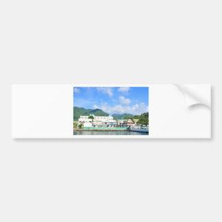 Soufriere Saint Lucia Bumper Sticker
