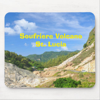 Soufriere Volcano in St. Lucia Mouse Pad