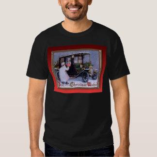 Souhaits vintages de Noël T-shirts
