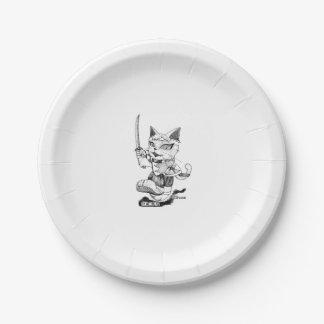 "Souji Okita ""Troupe Camelot"" (Souzi Okita Paper Plate"
