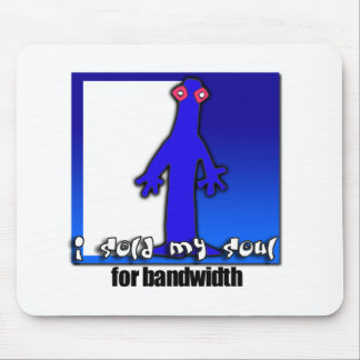 Soul for bandwidth mouse pad