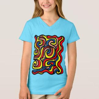 """""""Soul"""" Girls' V-Neck T-Shirt"""