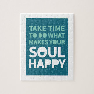 Soul Happy Jigsaw Puzzle