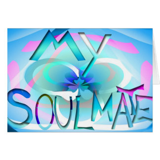 Soul Mate Greeting Card