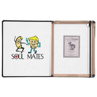Soul Mates Best Friends iPad Cases