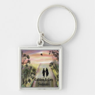 """Soul Mates"" personalized key ring""* Keychain"