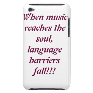 soul/music barely there iPod cases