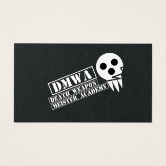 soul music eater- DMWA skull Business Card