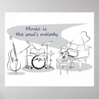 Soul Music Poster