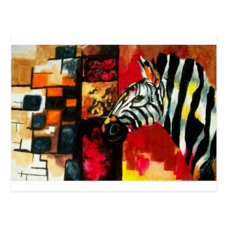 Soul of the Zebra Products Postcard